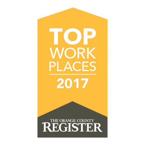Healthy Smiles Named a Orange County Top Workplace